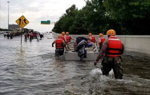 Hurricane Harvey Houston High Water Rescue